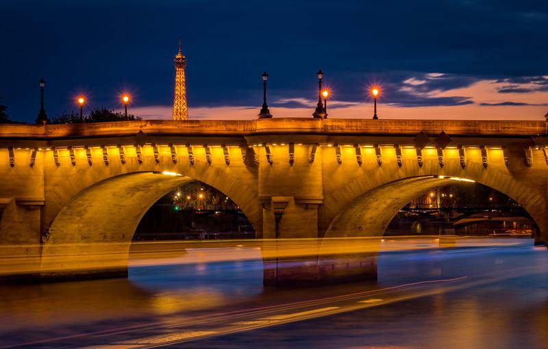 Under the Bridge - Pont Neuf, Paris