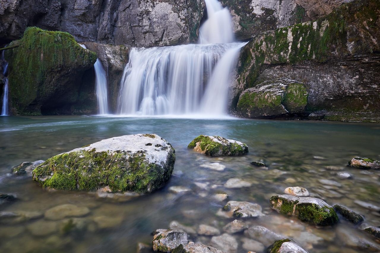 Waterfall of Billaude - Jura
