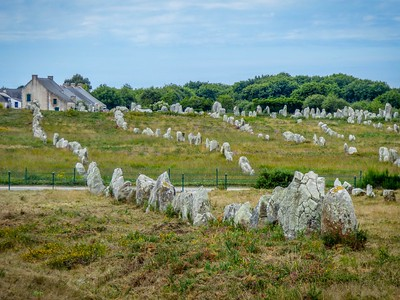 Ancient  Carnac Stones - Carnac France