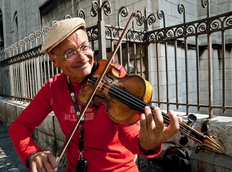Musician, Montmartre.