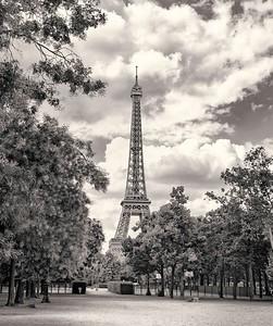 La Tour d'Eiffel. Paris