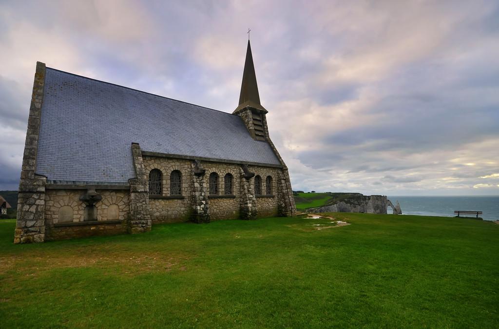 Chapelle Notre-Dame de la Garde, Étretat, France