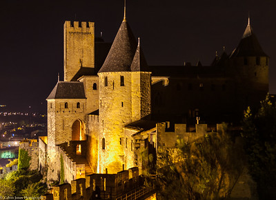 Carcassone by Floodlight
