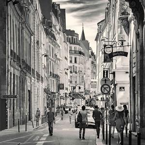 Saint Germain des Prés. Paris.