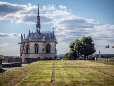 Chapel at Chateau Royale d Amboise , burial place of Leonardo da Vinci