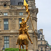 Joan of Arc, Place des Pyramides, Paris, France