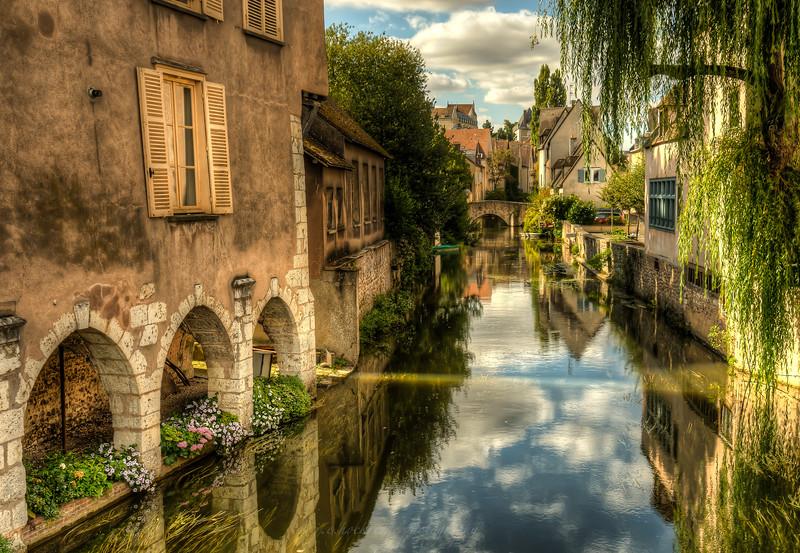 L'Eure River, Chartres
