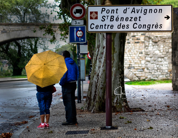"""Avignon 2019 - Yellow Umbrella"""