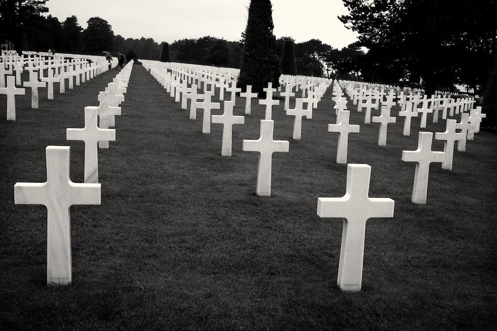 Omaha Beach Memorial, France 2015