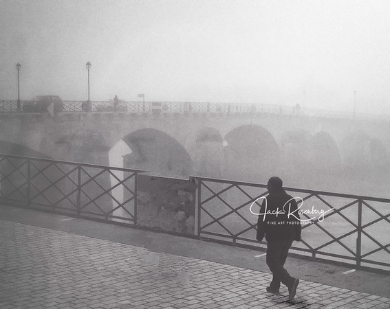 """Lyon 2019 - Foggy Rhone River Walk"""
