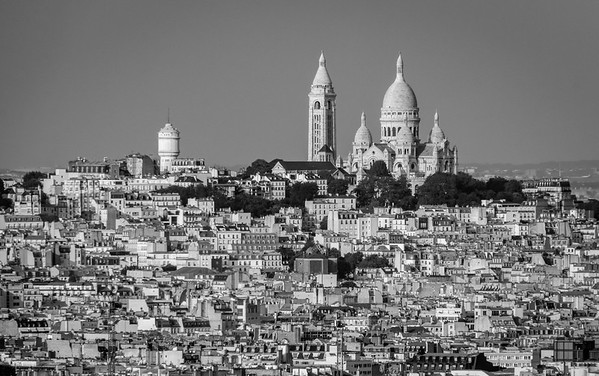 Looking Over - Sacré-Cœur, Montmartre, Paris