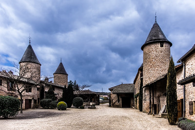 Chateau Pierre Clos Winery. Macon, France