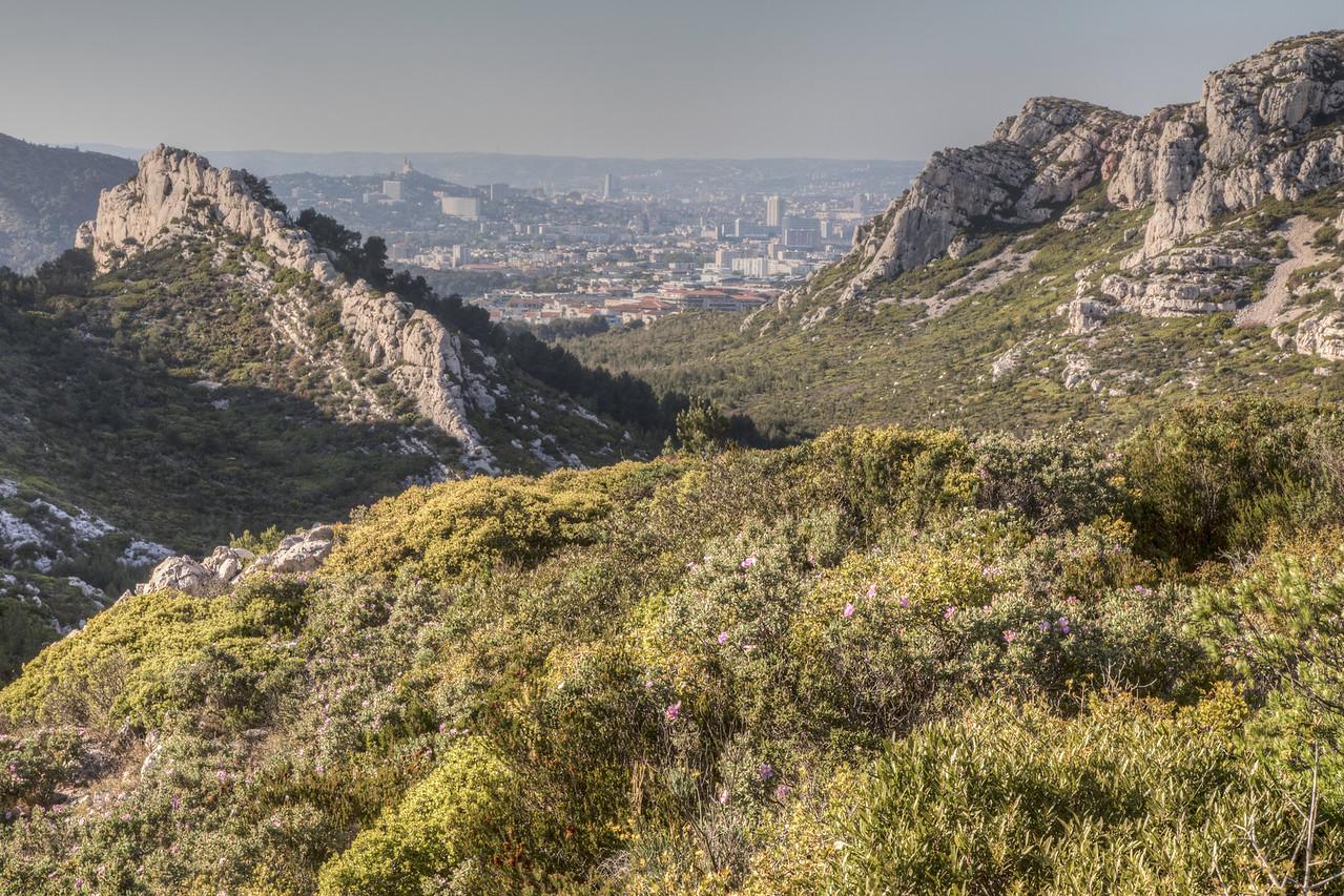 The Massif des Calanques, Marseille, France