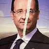 Early tears in the image, Presidential Candidate François Hollande, Paris, France