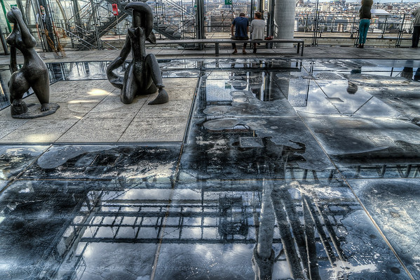 Reflections in Pompidou