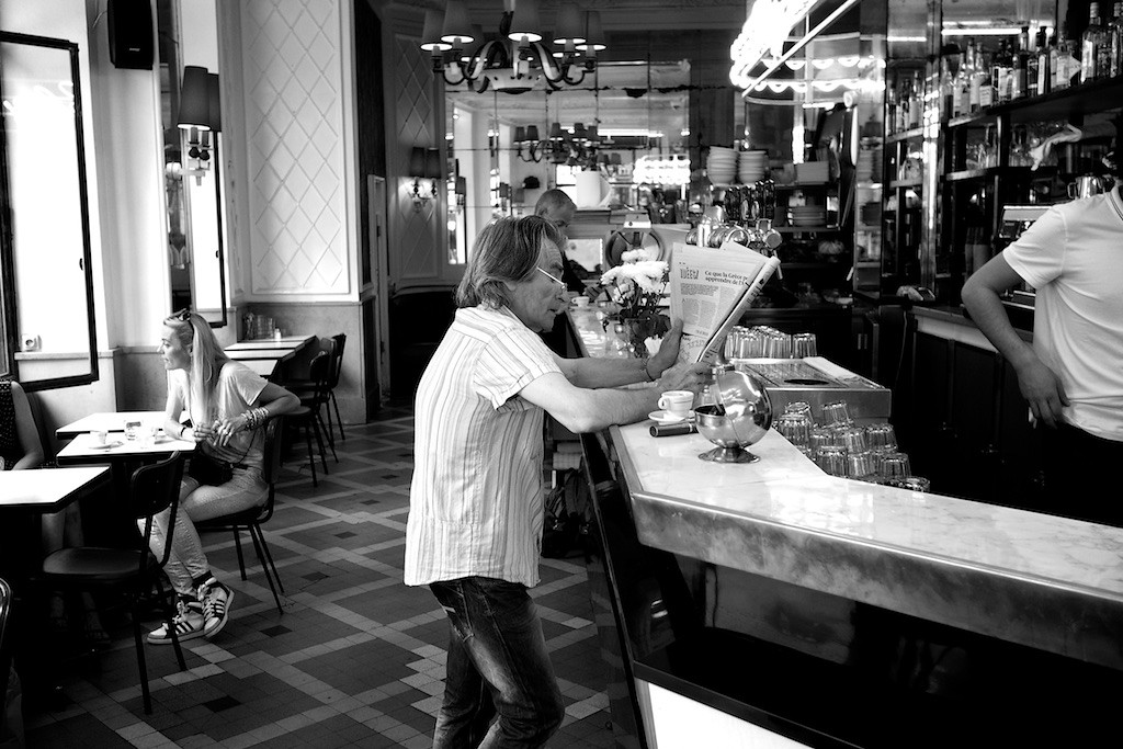 Cafe Chez Jeannete, 46 Rue du Faubourg Paris,  France 2015