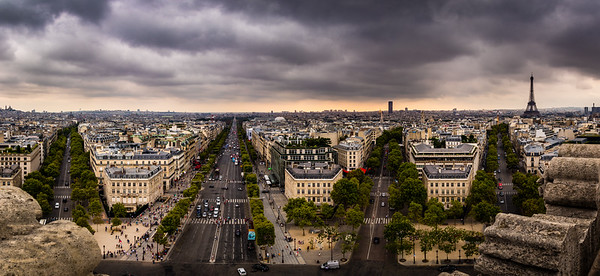 A Storm Brewing - Paris, France