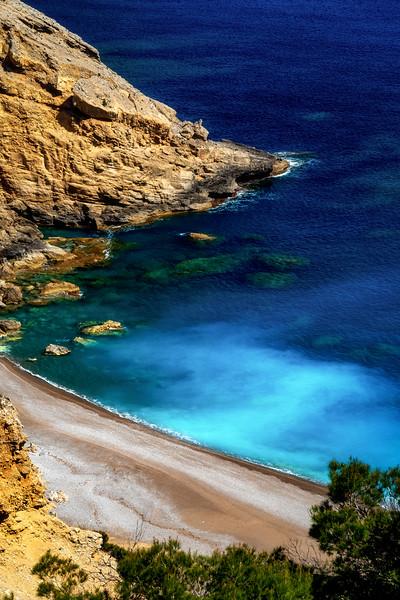 Platja des Coll Baix beach on Mallorca