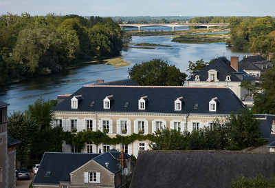 From Roof at Chateau Royale d Amboise