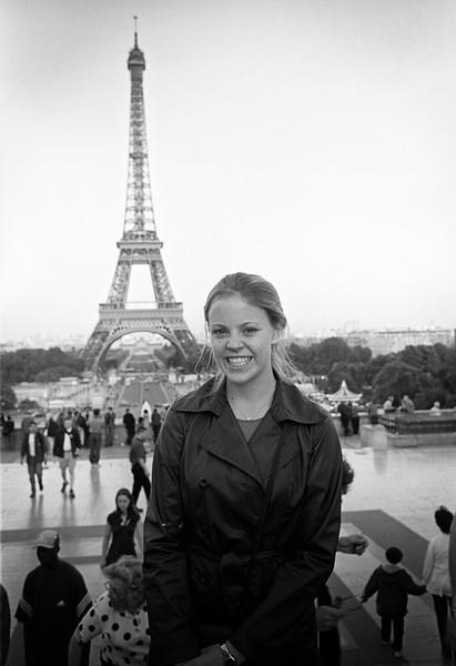 My beautiful Beth, 2001.