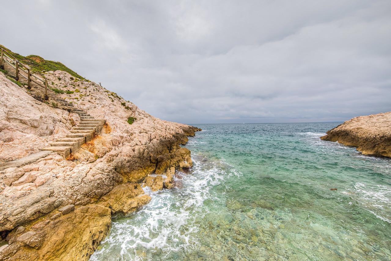 Calanque Blanche, Marseille, Provence Region, France