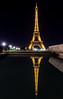 As above so Below - Eiffel, Trocadéro, Paris
