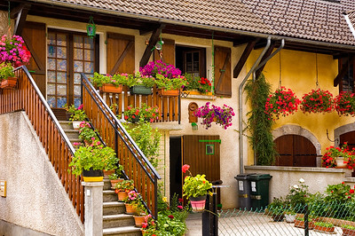 Richards___A Flowered house in Lally