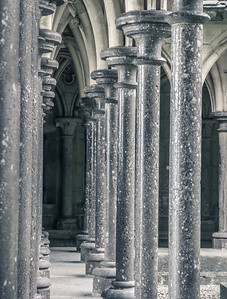 Ancient Pillars - Mont Saint Michel