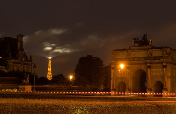Eiffel and Carrousel