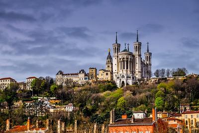 Basilica in Lyon, France