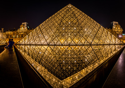 City of Love - The Louvre, Paris