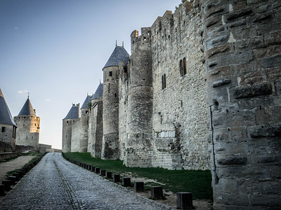 Walled Medieval City, Carcassonne France