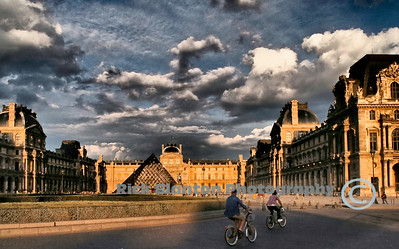 Bicycles at the Louvre