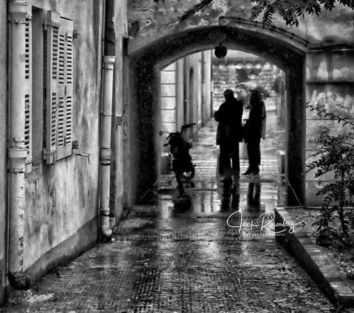 """Avignon, France 2019  - Respite From Then Rain"""