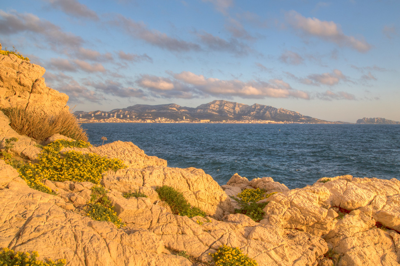 Along the Mediterranean Sea, Marseille, Provence Region, France