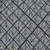 Close up of the Glass Pyramid at the Louvre Museum in Paris, France