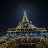 Night under the EIffel Tower - Paris