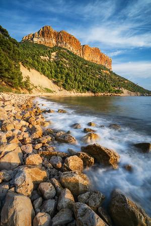 Cassis coastline