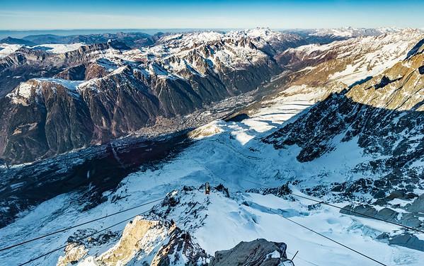 Flying Over Chamonix  - Chamonix France