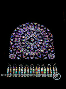 The Rose Window at Notre Dame de Paris