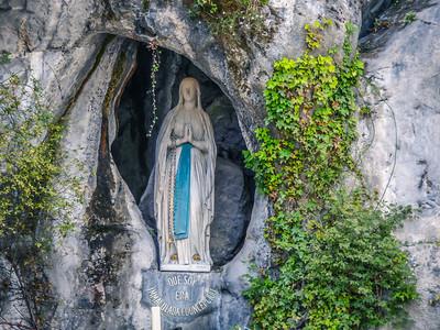 Grotto - Lourdes, France