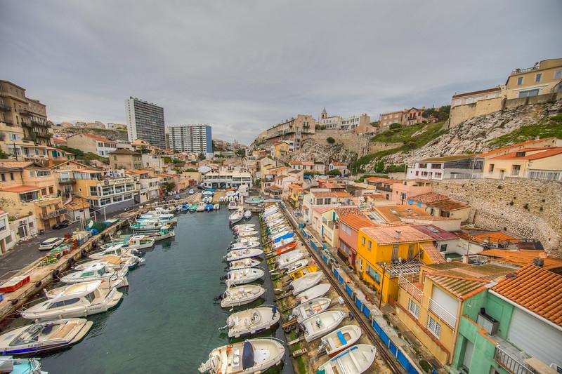 Port Du Vallon Des Auffes, Marseille, Provence Region, France