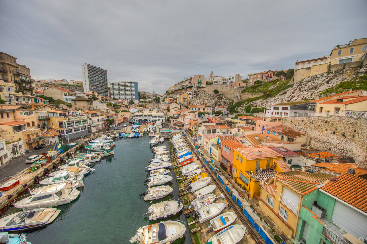Port Du Vallon Des Auffes, Marseille, Provence Region, France