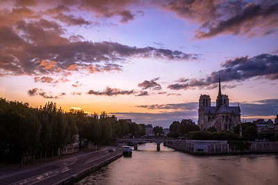 Fire in the sky! - Notre-Dame de Paris