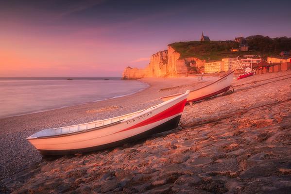 Etretat Beach