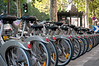 Velo rental station, Paris