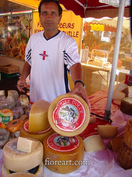 Cheese Vendor, Corsica