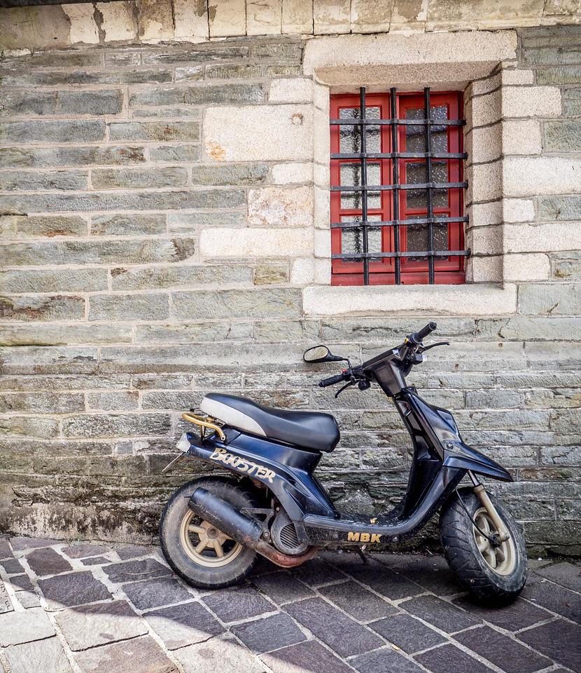 scooter in Ploermel France
