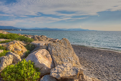 Mediterranean Sea, Antibes, Provence Region, France
