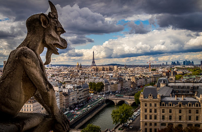 The Protecters of Paris! - Notre-Dame, France